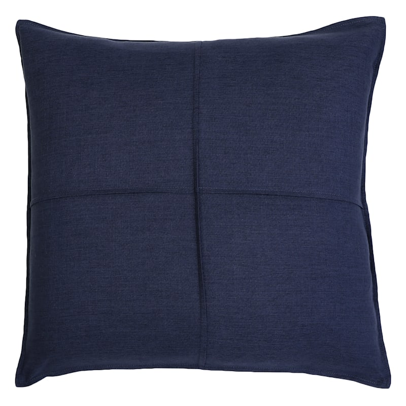"Lincoln Blue Throw Pillow, 22"""