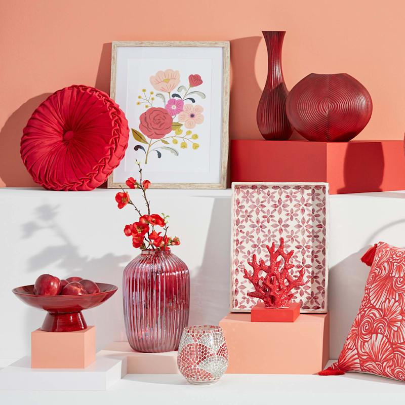 """9"""" Ceramic Coral Tabletop Decor"""