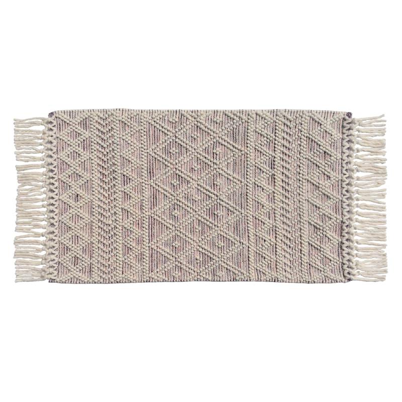 Hilo Morocco Hand Woven Rug, 27x45