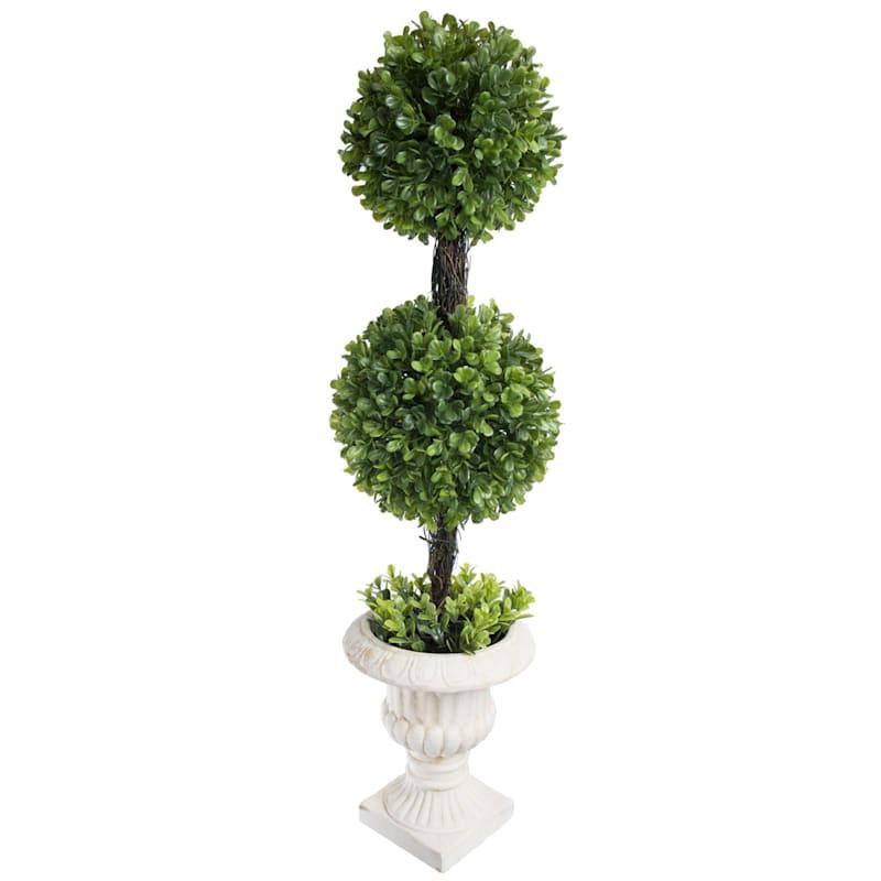 26X8 Boxwood 2 Sphere Topiary