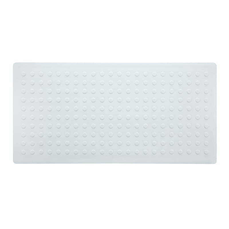 Large Rubber Safety Mat White 25Strs