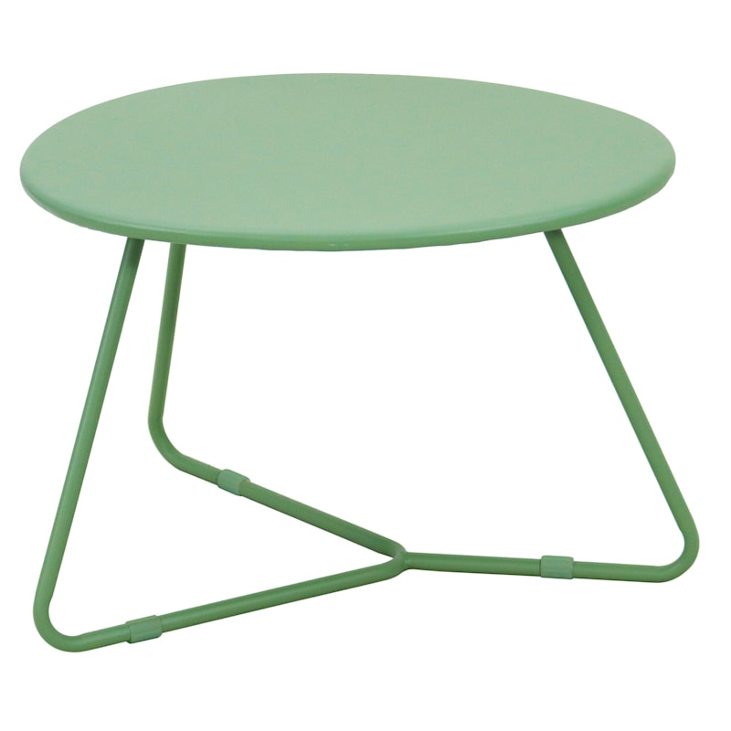 Rio Green Steel Outdoor End Table