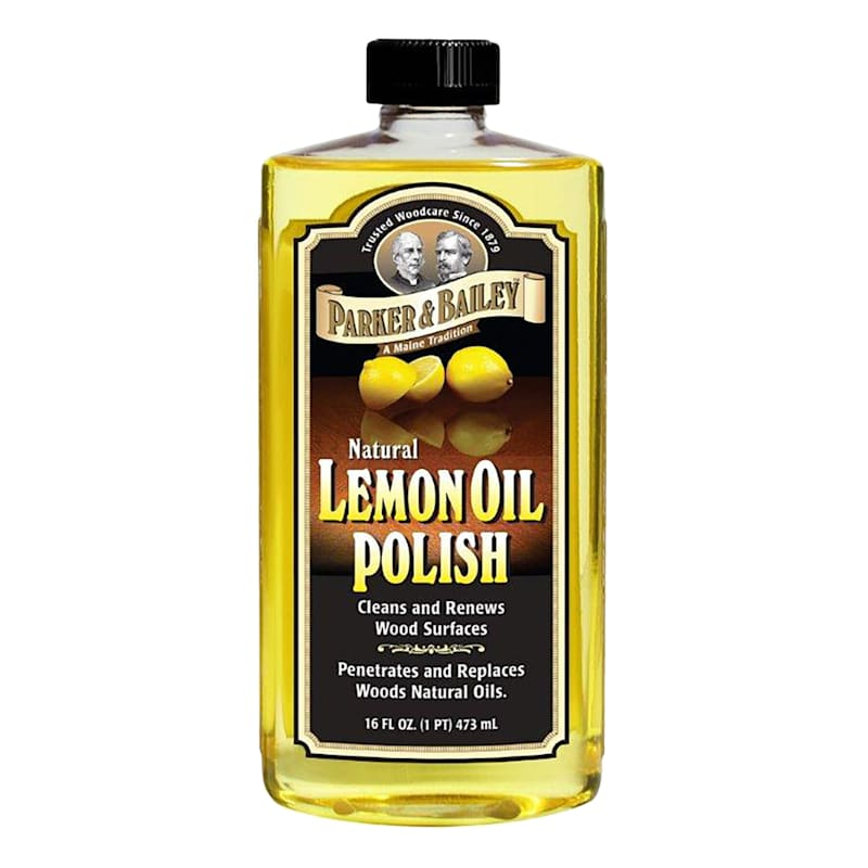 Parker & Bailey Natural Lemon Oil Polish- 16 oz. Bottle