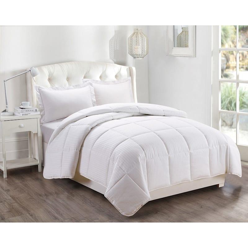 Down Alternative Comforter White Full/Queen