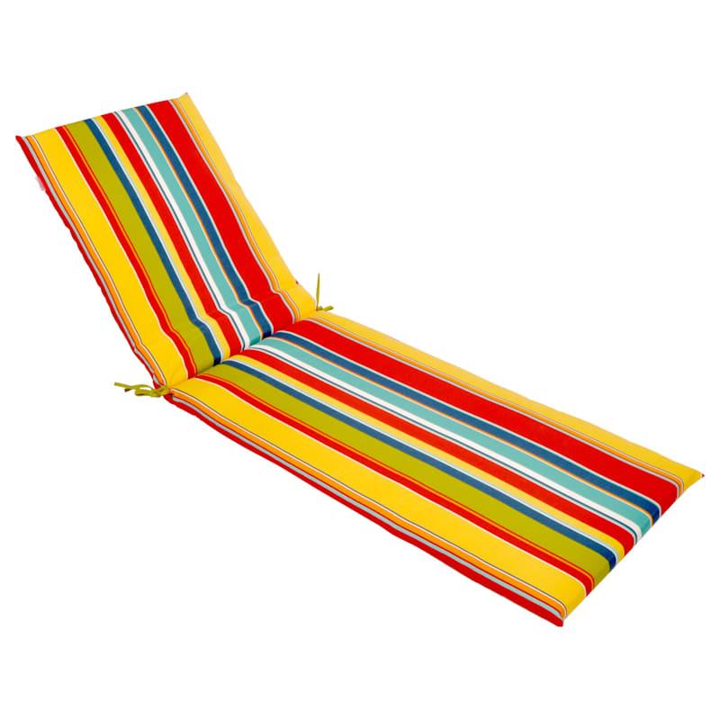 Macrae Garden Outdoor Chaise Lounge Basic Cushion
