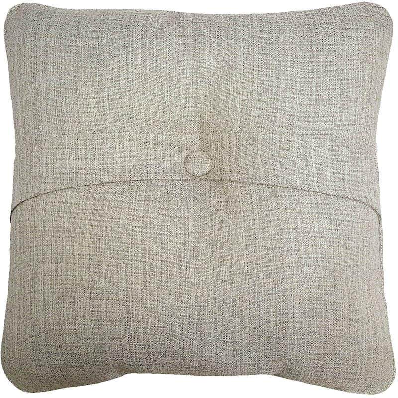 Fiddlestix Outdoor Premium Tufted Back Cushion