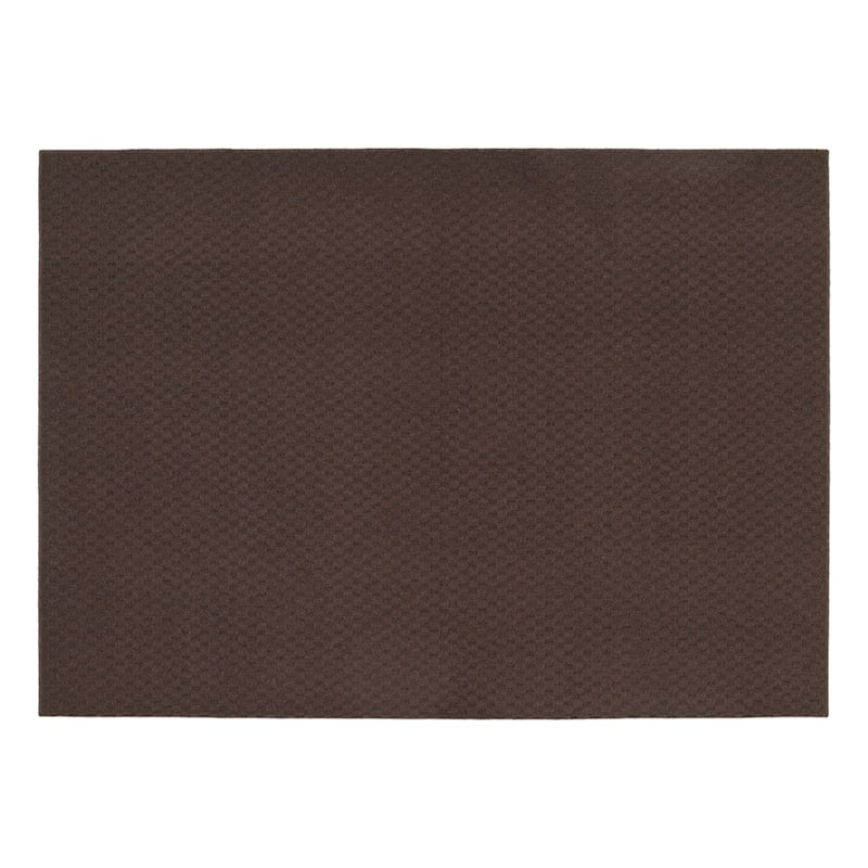(D138) Town Square Scatter Rug Mocha, 2x4