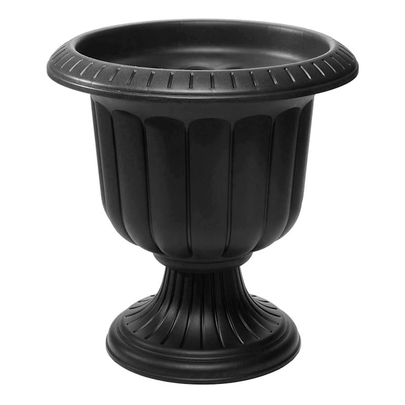 19in. Classic Urn Black
