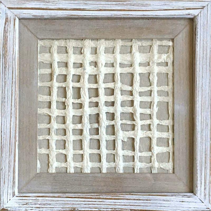 13X13 Shadow Box Rice Paper Wall Art