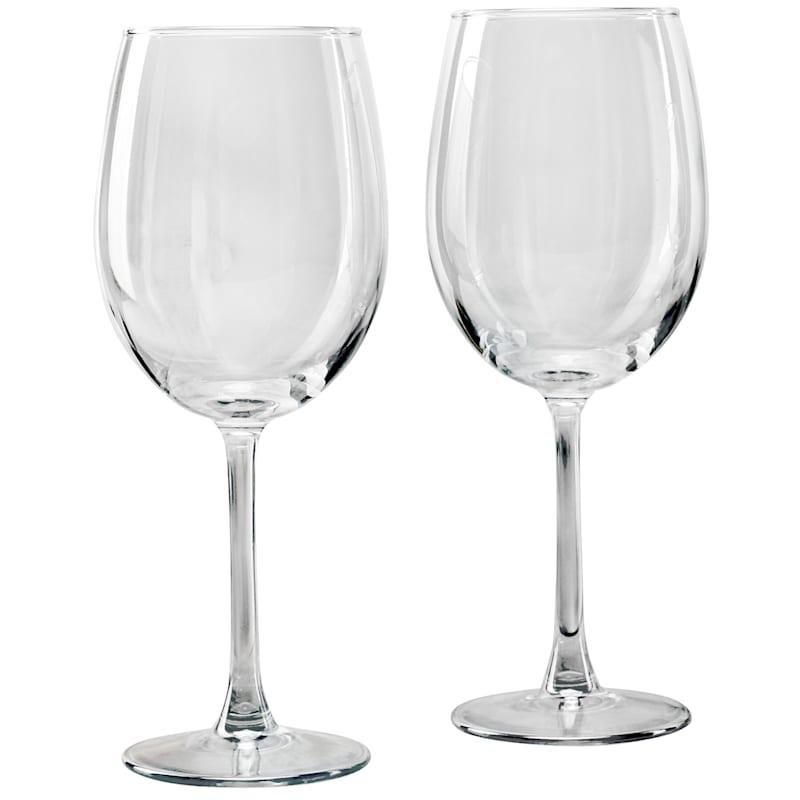 17.5oz Blue Luster Wine Glass