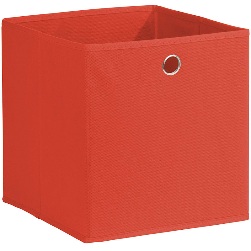 Kid Fabric Cube Tote Red