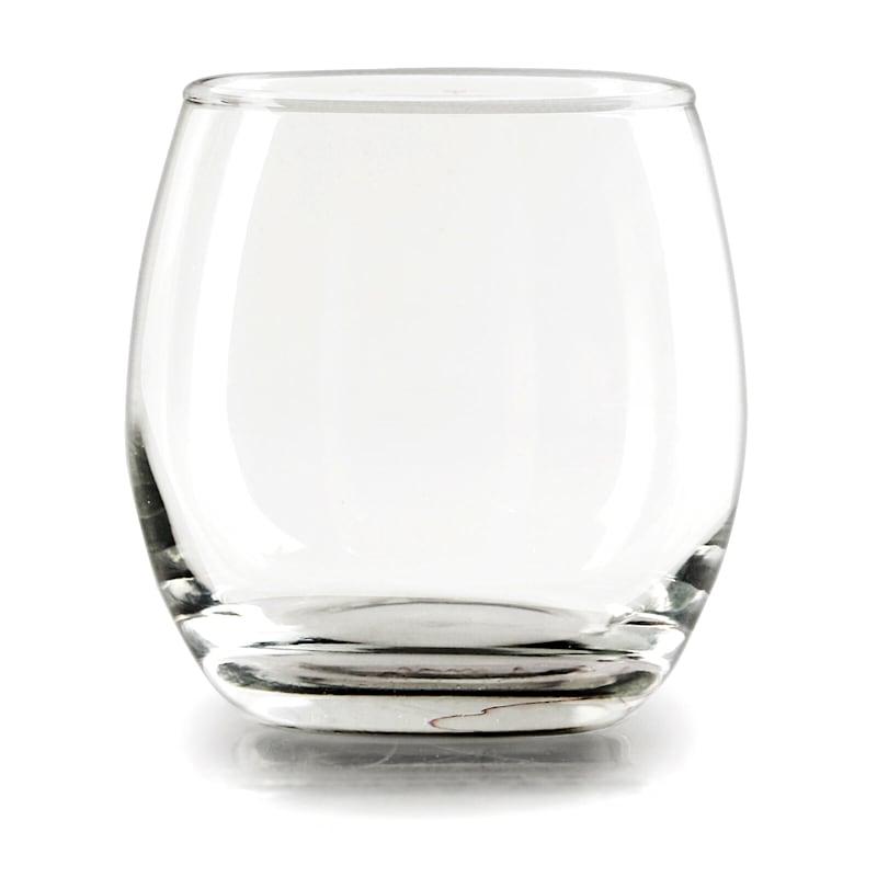 Set Of 4 12oz Stemless Red Wine Glass
