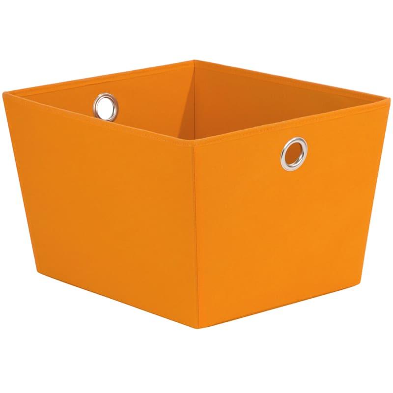 Tapered Tote W/Grommet Orange