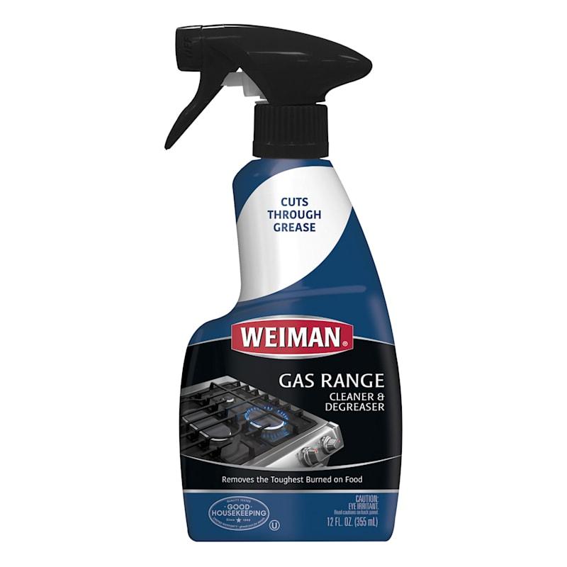 Weiman Gas Range Degreaser- 12 oz. Spray