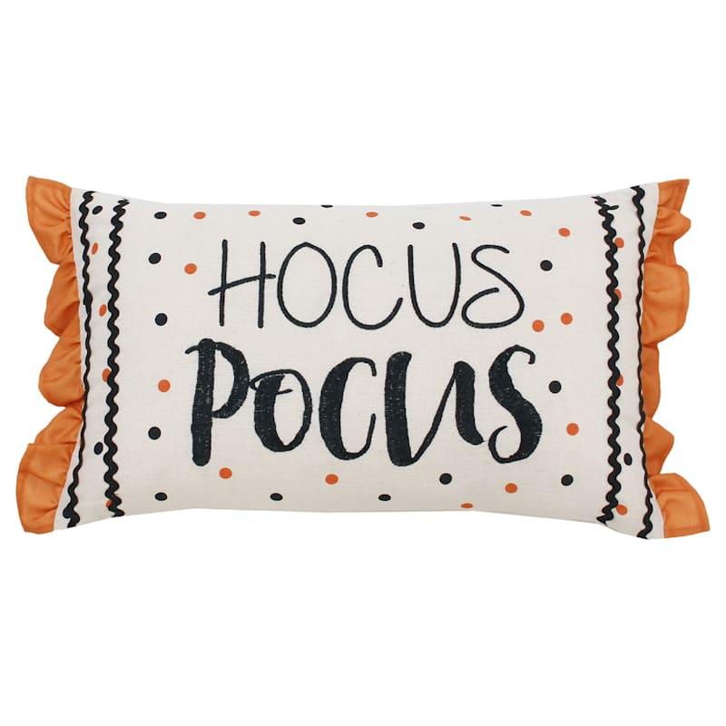 Hocus Pocus Throw Pillow, 12x20