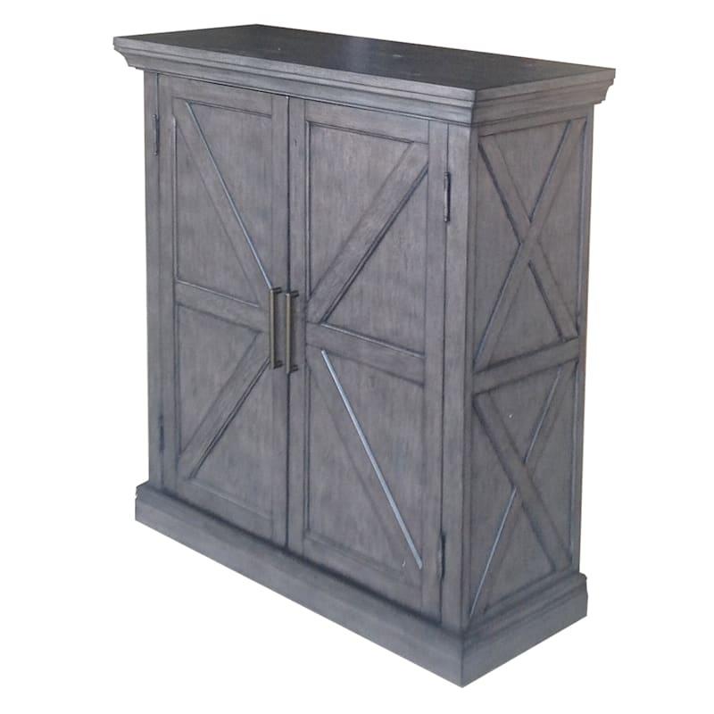 Kelly 2 Door Barn Door Cabinet
