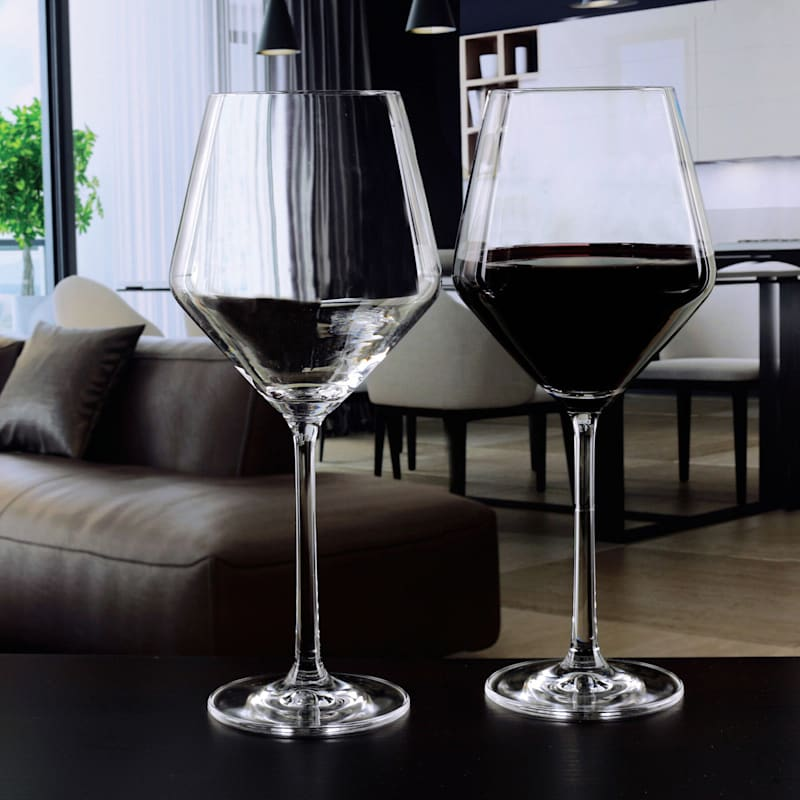 Bordeaux Wine Glass Set Of 4 15.2oz Glasses