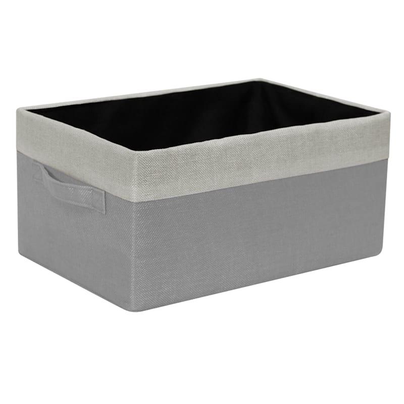 3-Piece Grey Basket