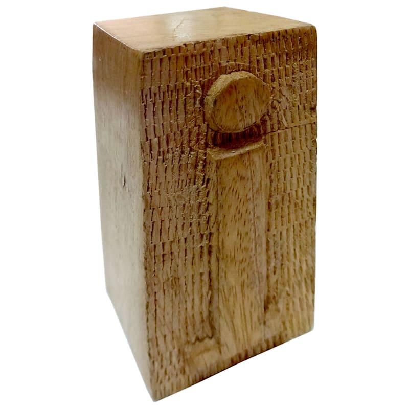 Wood Block Letter I