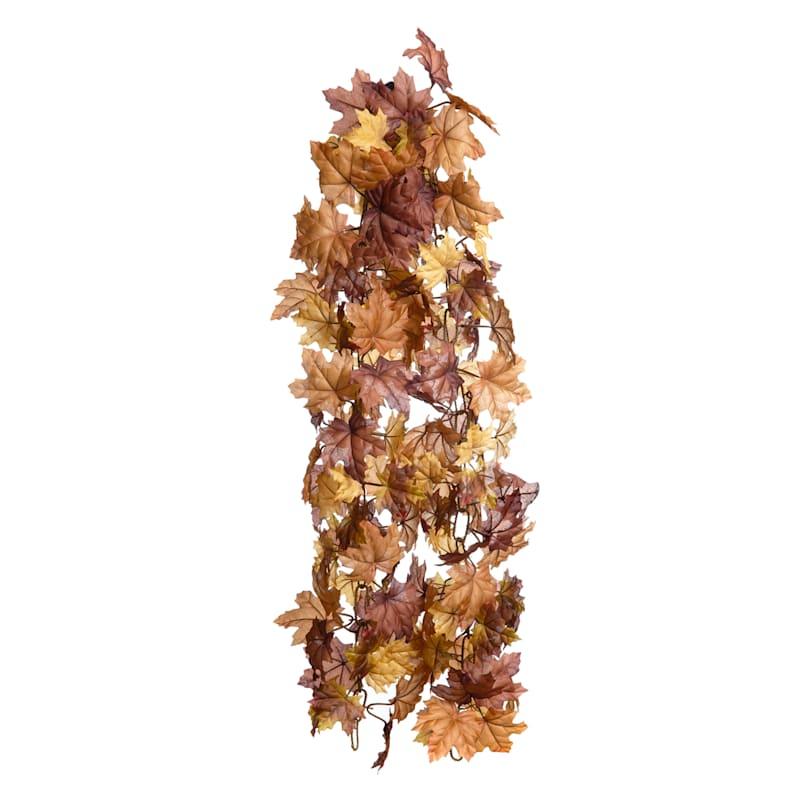 Maple Leaf Garland, 6'