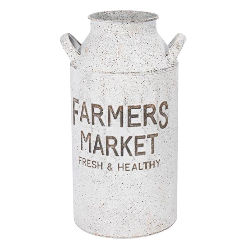 13in. Iron Farmhouse Pot
