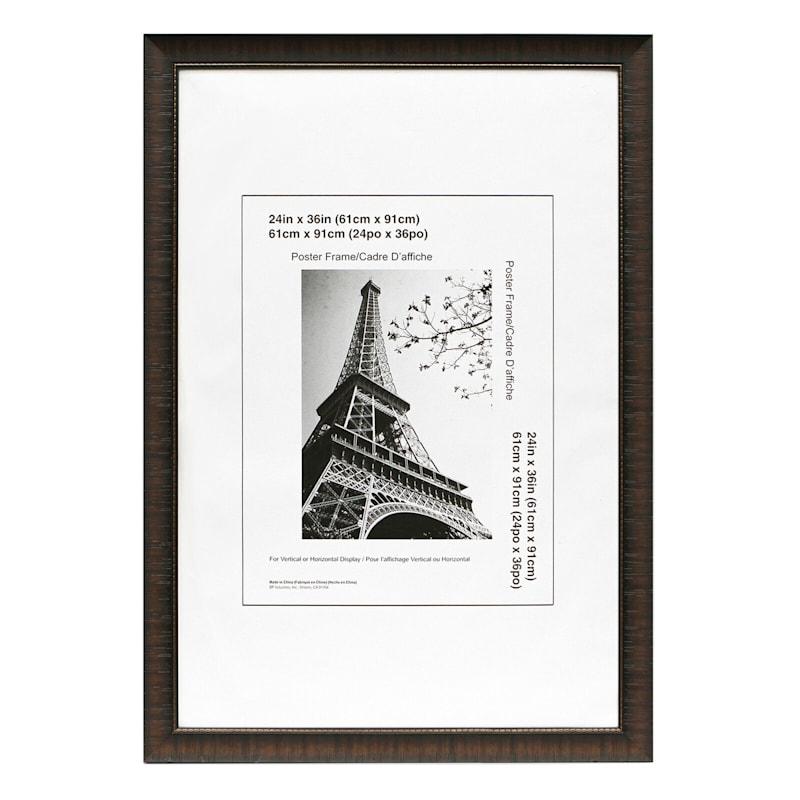 24X36 Maria Espresso Poster Frame