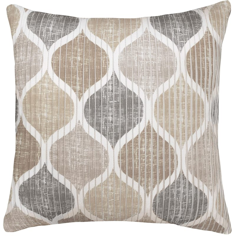 Hollis Natural Pleated Pillow 18X18