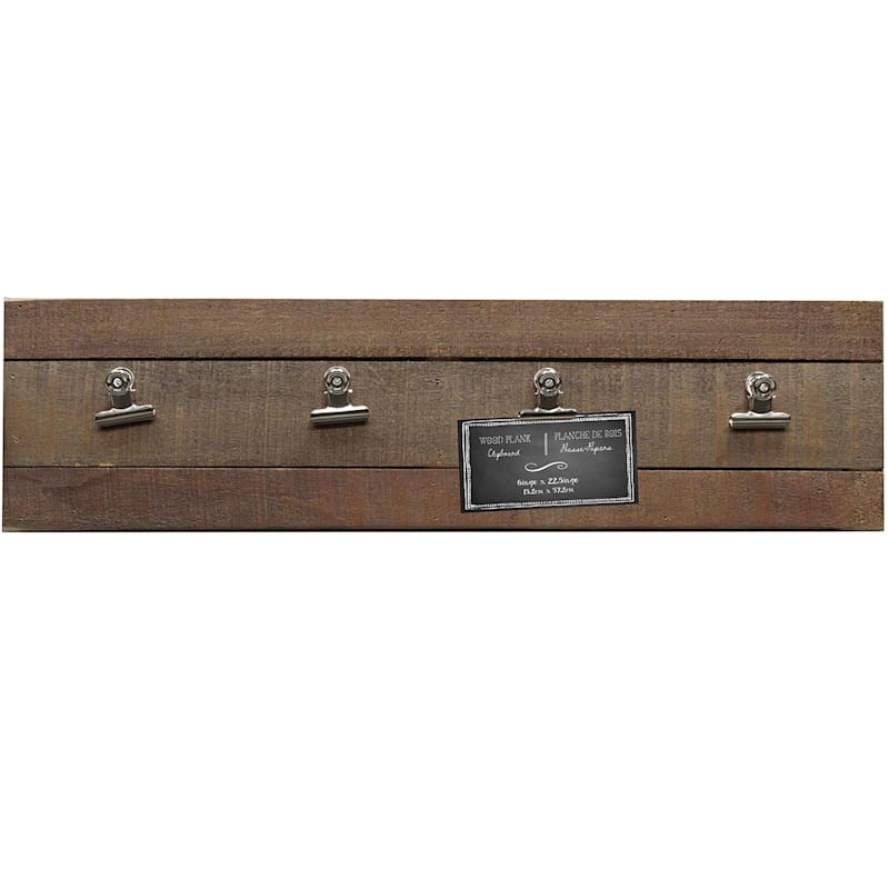 22.5X6 Natural Clipboard Tabletop Frame