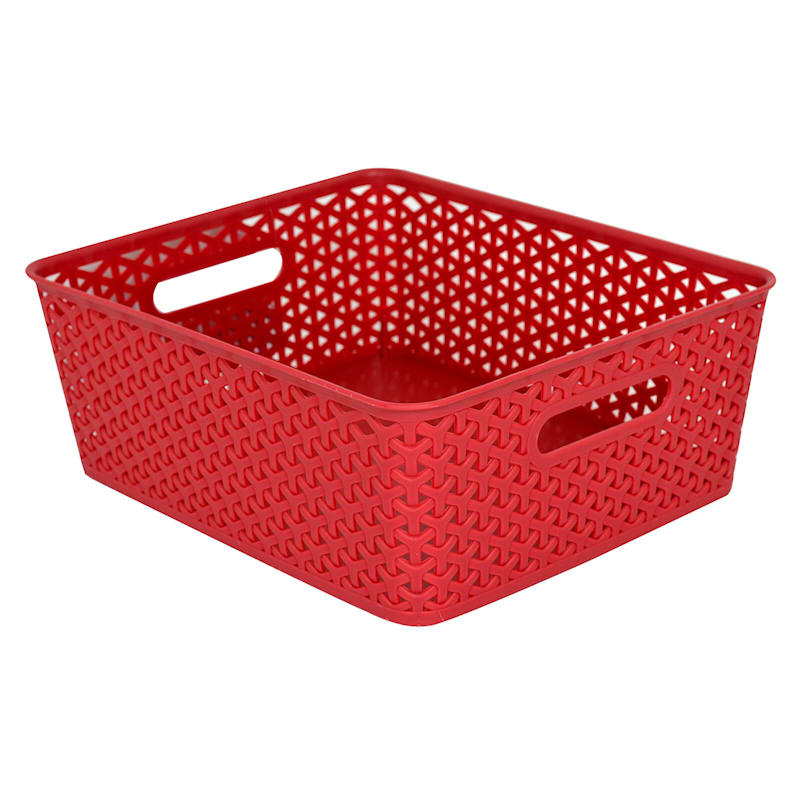 13.75X11 Basket Red