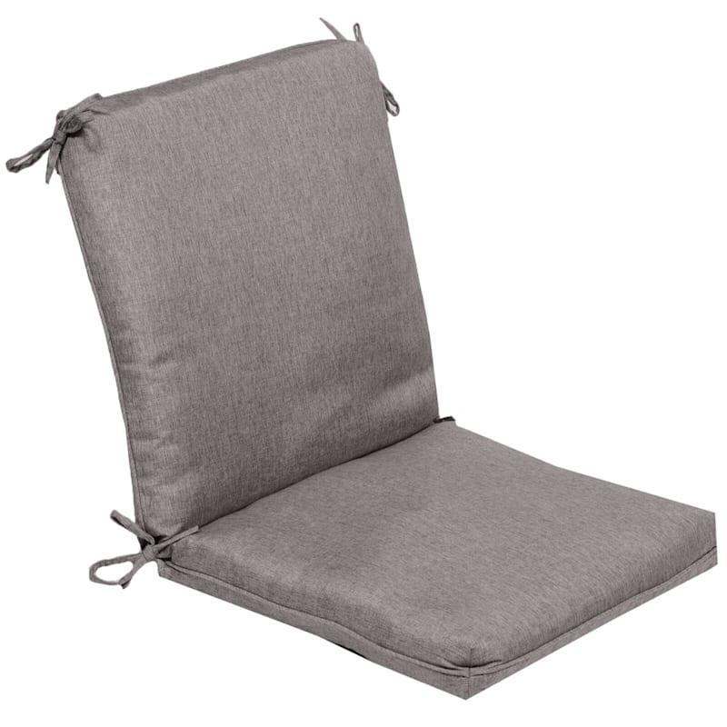 Vernon Granite Outdoor Premium Hinged Chair Cushion