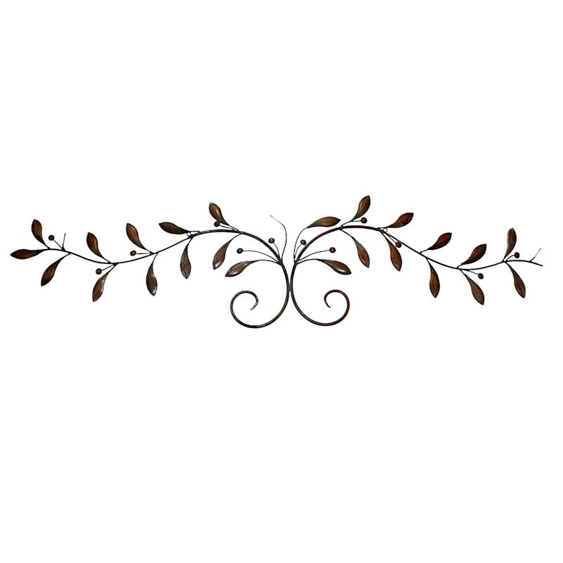 11X48 Metal Olive Branch