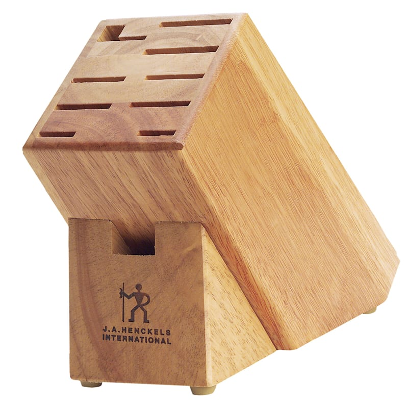 Henckels 11-Slot Hardwood Knife Storage Block
