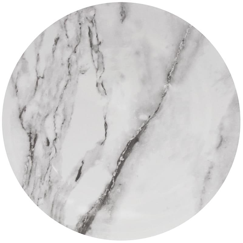 Melamine Marble Pattern Salad Plate
