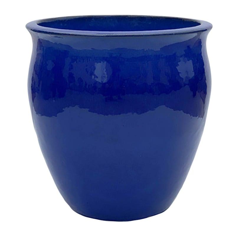 13.8 IN. FLAREPLANTER BLUE