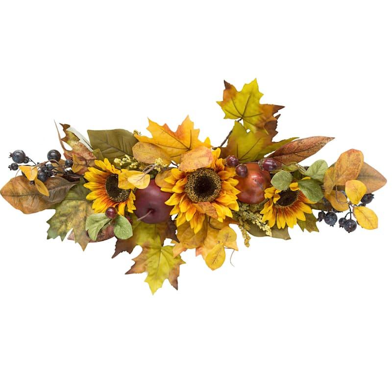 Assorted Sunflower, Fruit & Berry Arrangement