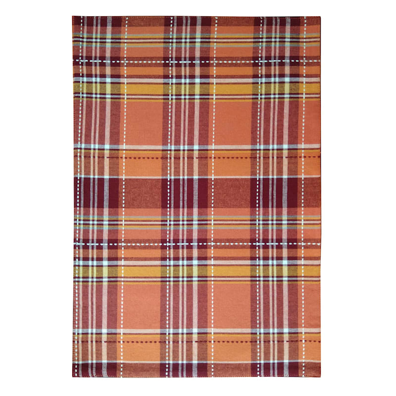 Set of 4 Yarn-Dyed Plaid Placemats