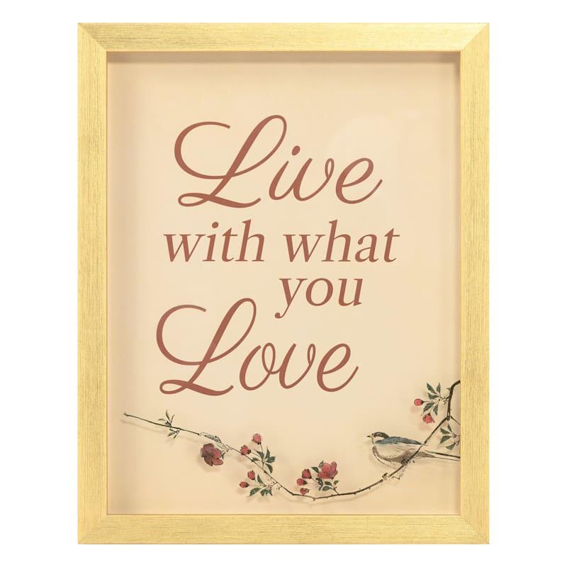 11X14 LIVE LOVE