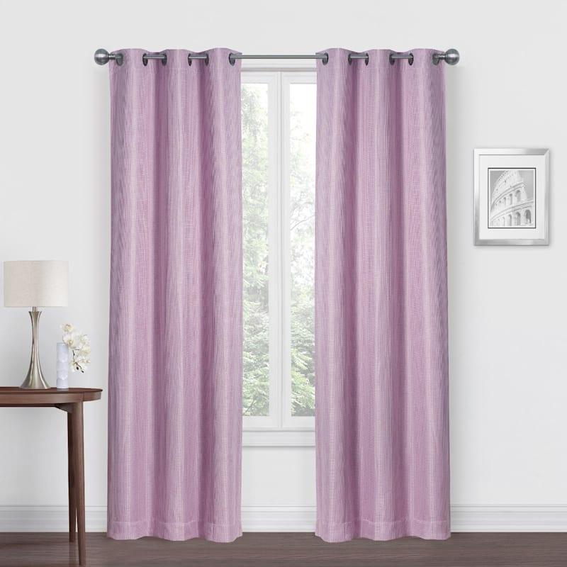 Morisson Purple Blackout Grommet Window Panel 84in.