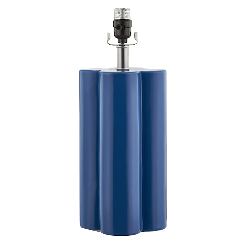 """Grace Mitchell Blue Table Lamp, 18"""""""