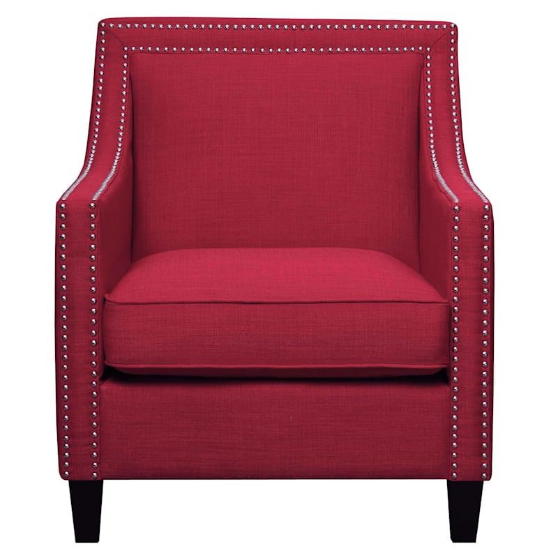 Erica Berry Accent Chair with Nailhead Trim