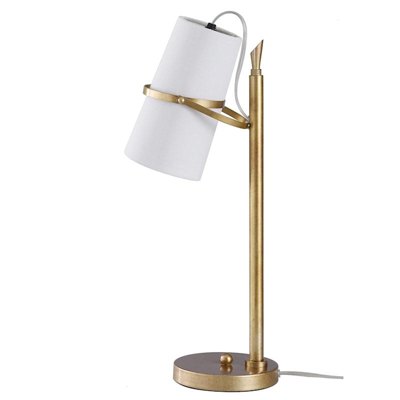 22in. Gold Metal Task Lamp