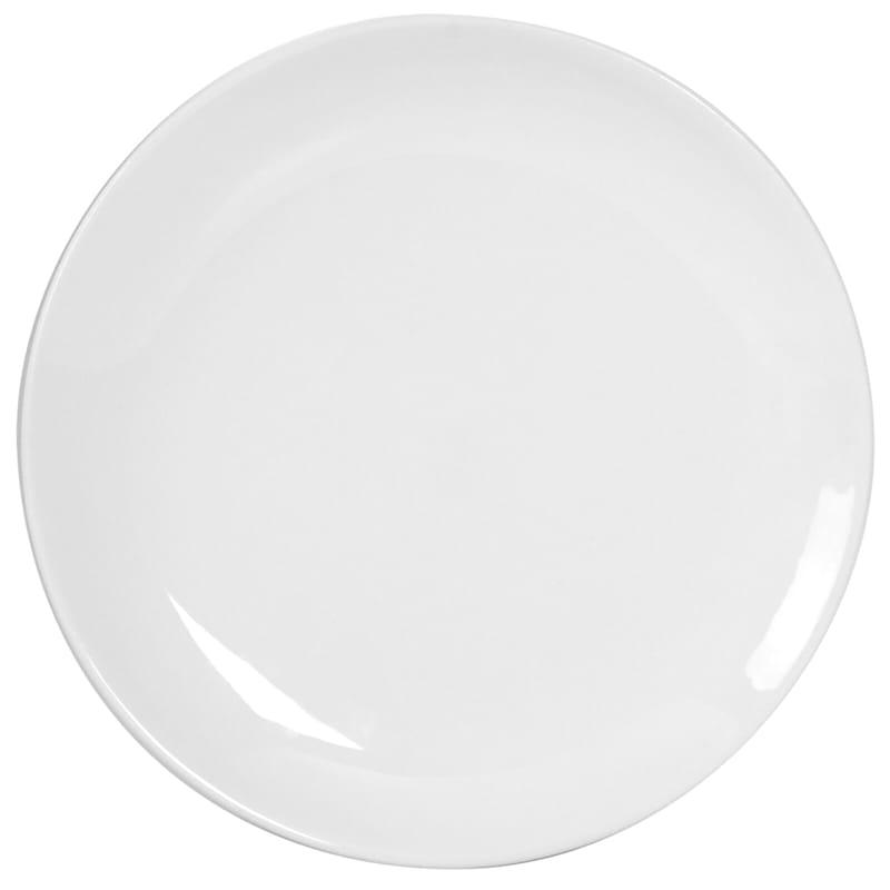 Blanc De Blanc Round Coupe Salad Plate