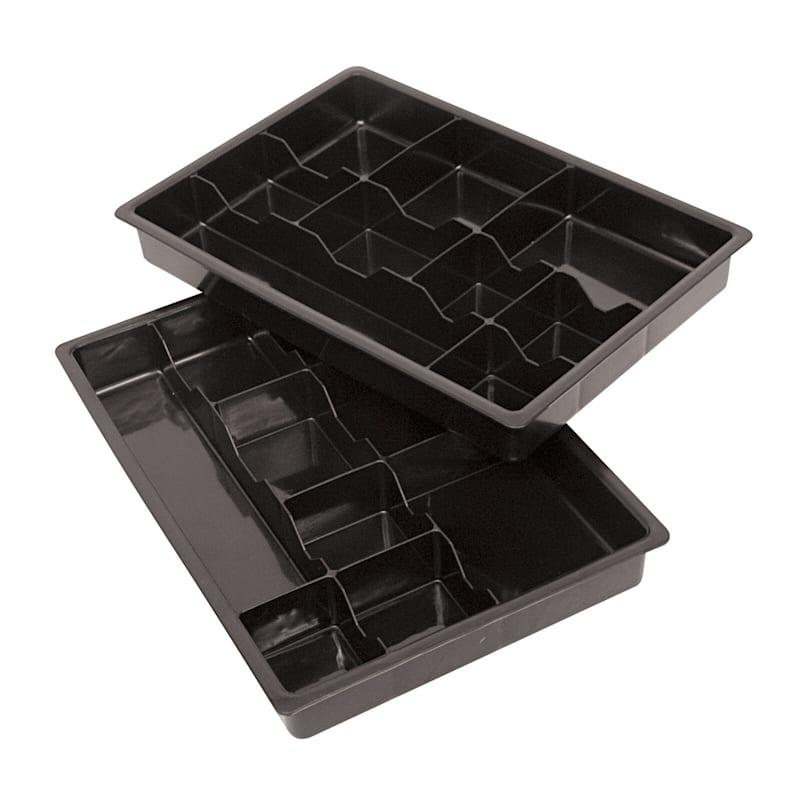 Black Organizing Tray