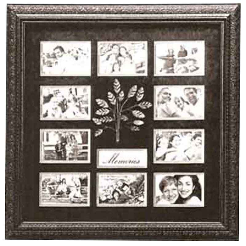 24X24 Memories Framed Photo Collage