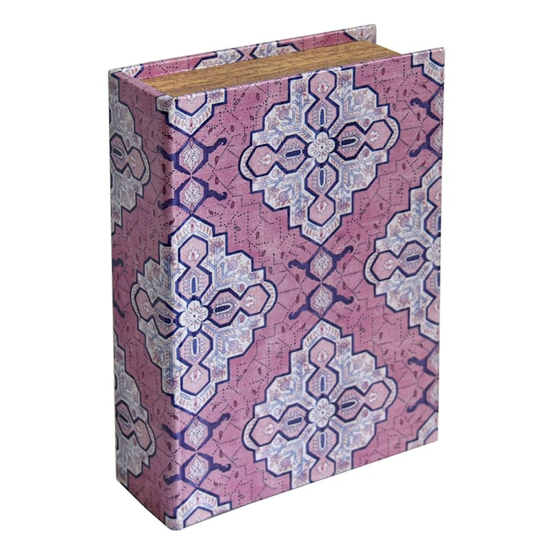 12 INCH WOOD BOOK BOX DECOR