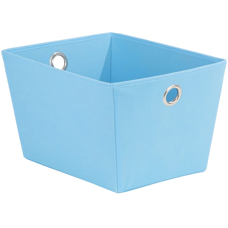 Tapered Tote W/Grommet Turquoise