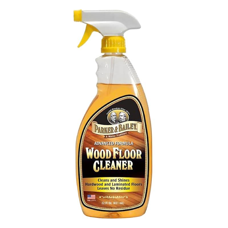 Parker & Bailey Wood Floor Cleaner- 22 oz. Spray