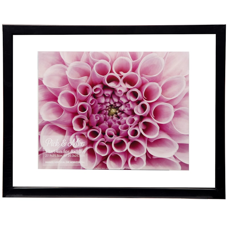 Pick And Mix 11X14 Black Linear Float Photo Wall Frame