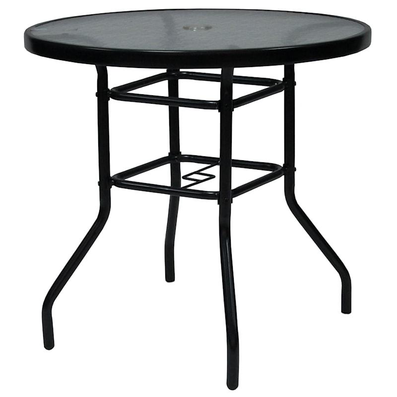 "30"" Bistro Table, Black"