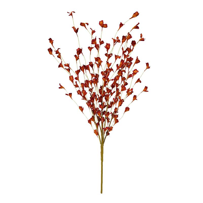 """Red Paper Flower Bush, 26"""""""